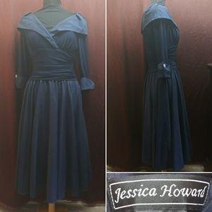 Jessica Howard Blue Maxi Dress Size 10